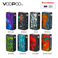 В наличии 177 Вт VOOPOO 2 коробки мод без 18650 батареи Vape мод электронная сигарета испаритель DRAG Mod Vs Drag Mini/Shogun Univ