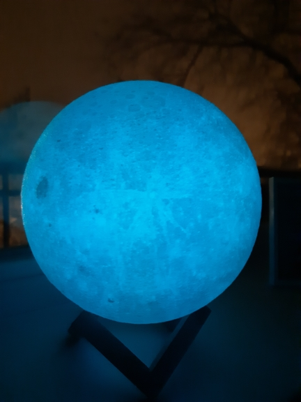Ultimate Multicolours Moon Lamp 12CM photo review