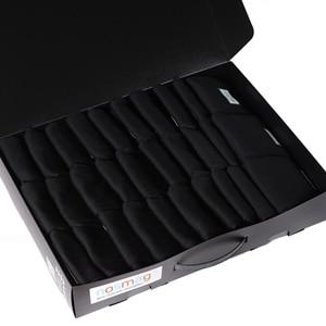 Набор носков из микромодала, 30 пар (ТМ Grinston) черные