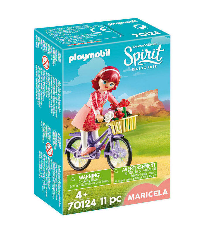 Playmobil 70124 Maricela With Bicycle Toy Store Articles Created Handbook