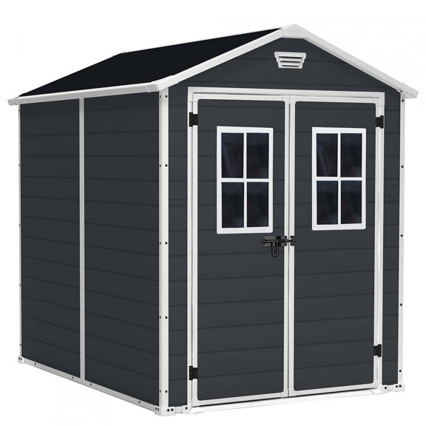 Shed Shed For Garden Resin 227x186x237cm GH91