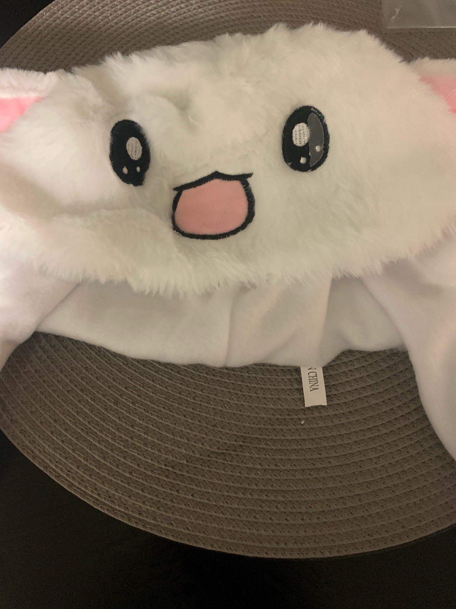 Peluche oreilles de lapin avec oreille controlable