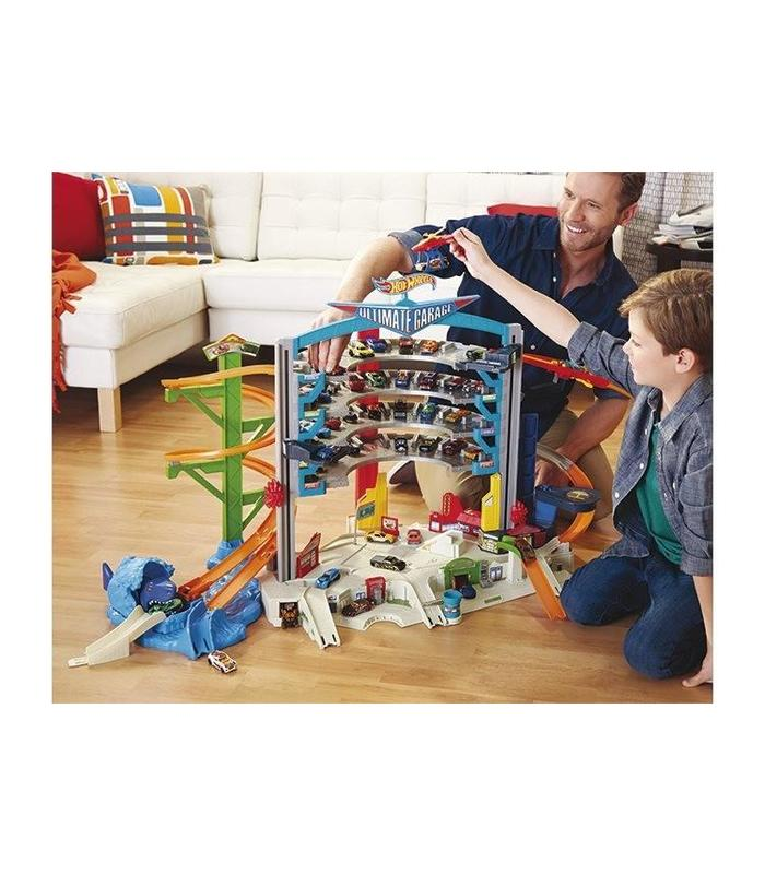 Mega Garage Hot Wheels With Cars Including Toy Store
