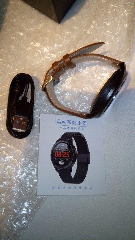 LEMFO Smart Watch Men ECG Heart Rate Blood Pressure Monitor 1.3 inch Full Screen Touch IP68 Waterproof Smartwatch|Smart Watches|   - AliExpress