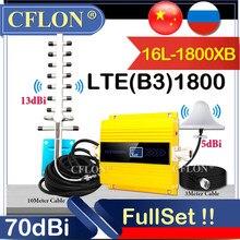 HotDeal!! 900 1800 2100 2600Mhz CellPhone 4G Cellular Amplifier GSM DCS WCDMA LTE 4G Signal Repeater 2G3G4G Data Signal Booster