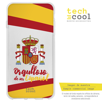 FunnyTech®Silicone Case for Iphone 6 Plus / 6S Plus shield Spain proud