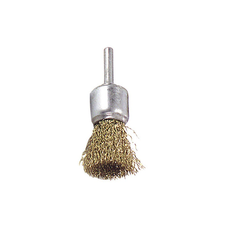 Steel Brush Brass Brush 25mm. 1/4