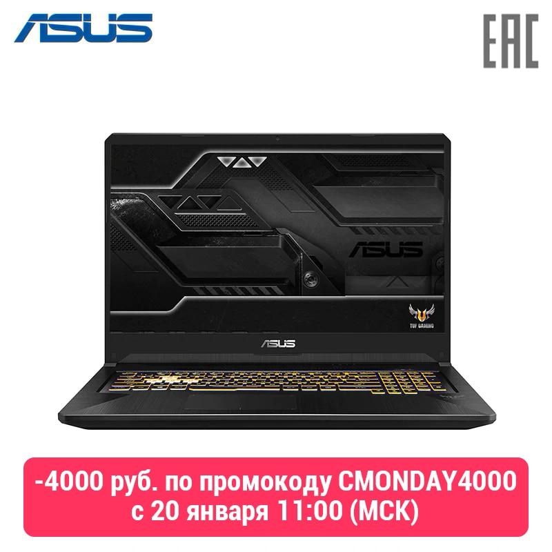 "Laptop ASUS FX705DU AMD Ryzen 7 3750 H/16 GB/512G SSD/17.3 ""FHD/ GTX 1660Ti 6 GB/WiFi/No OS (Gold Steel) (90NR0281-M01030)"