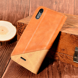 На Алиэкспресс купить чехол для смартфона leather book case for bq mobile bq-5518g jeans cover anti-knock magnetic luxury wallet case cover with card pocket