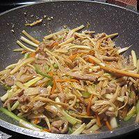 #安佳食力召集,力挺新一年#肉丝蔬菜的做法图解16