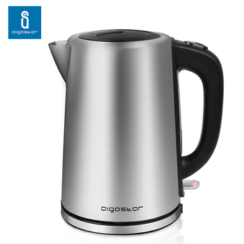 Aigostar 30LDG - Electric Water Kettle, 304 Food Grade Stainless Steel, Cordless with 3000 Watts цена 2017
