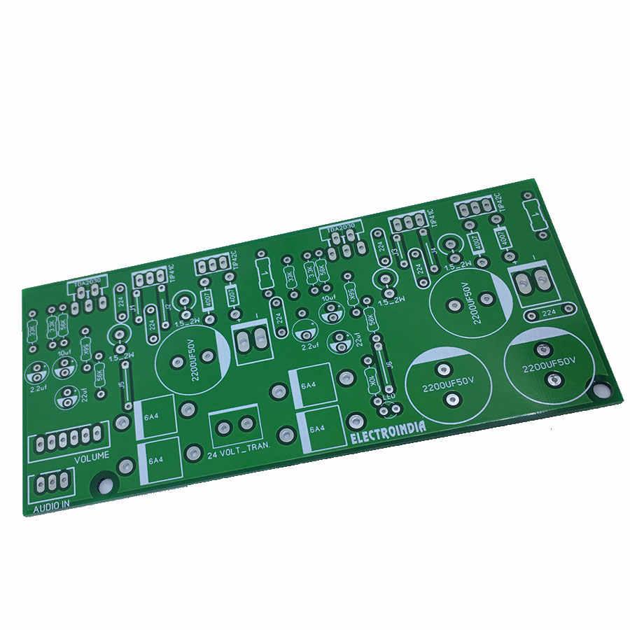 100 ואט סטריאו מגבר לוח DIY TDA2030 IC עם טרנזיסטורים 2x50 ואט סטריאו מגבר
