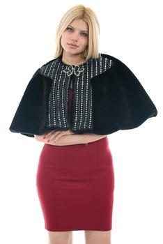 Redpoint Faux Fur (sztuczne futro) Bolero broszka prezent 446903558 tanie i dobre opinie