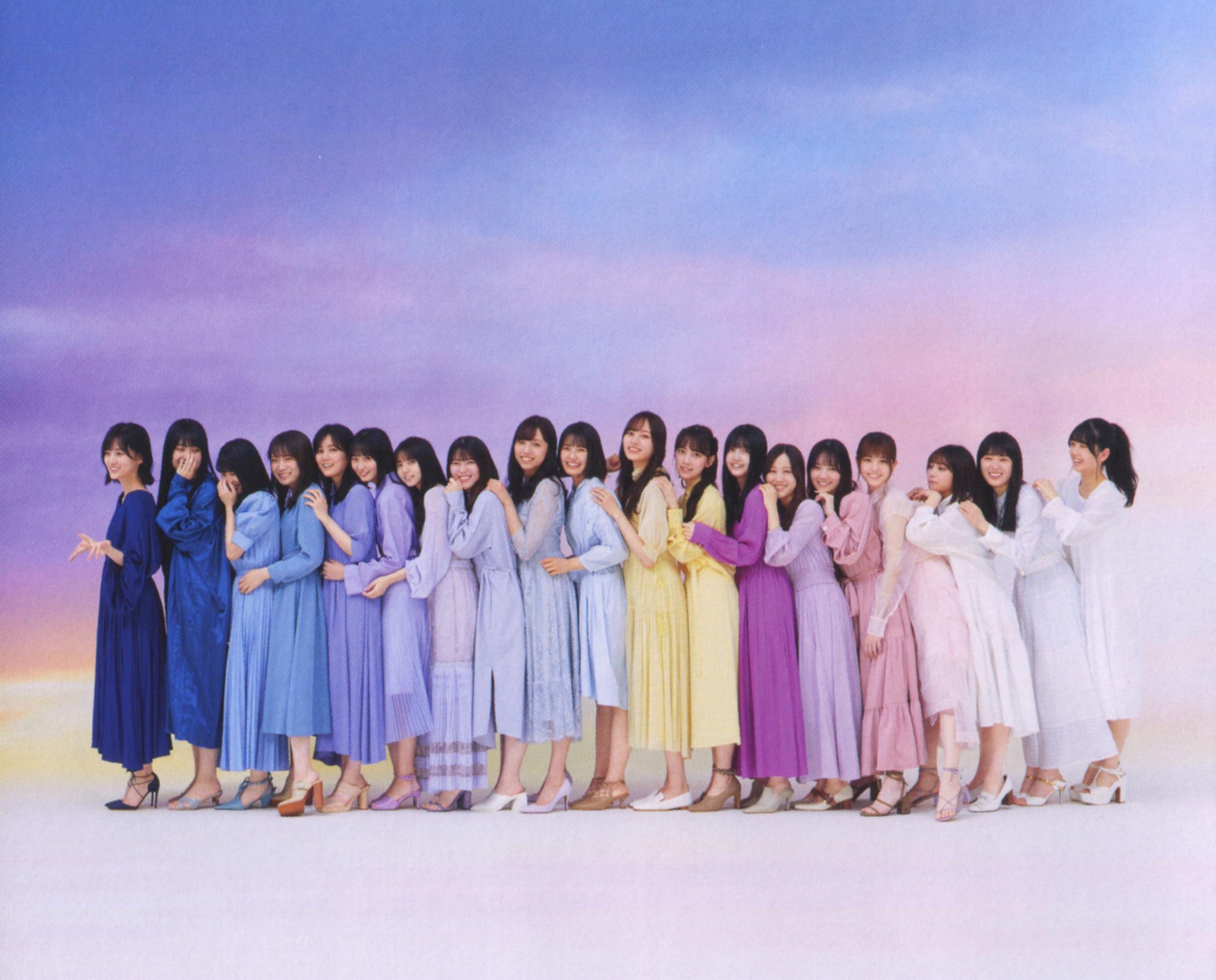 坂道系大合集第26弹女星妹子山下美月、早川圣来