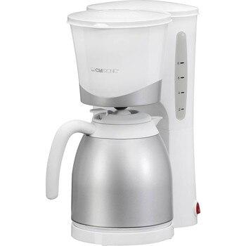 Clatronic KA 3327 Waterkoker drip elektrische Thermos pot koffiezetapparaat filter capaciteit 8 tot 10 cups 1 liter 8700 W wit-in Koffiemakers van Huishoudelijk Apparatuur op