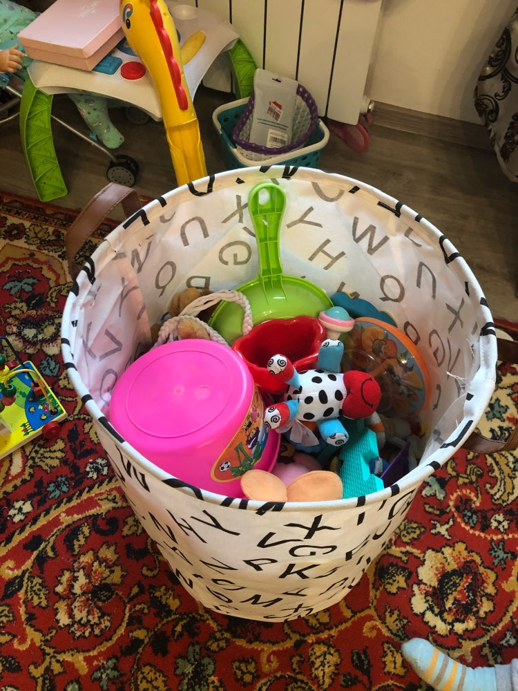 Dog Toy Basket | Pet Toy Basket | Puppy Toy Basket photo review