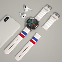 20mm 22mm 실리콘 밴드 명예 매직 시계 2/화웨이 시계 gt 2 삼성 갤럭시 시계 삼성 기어 s3 프론티어 기어 s2