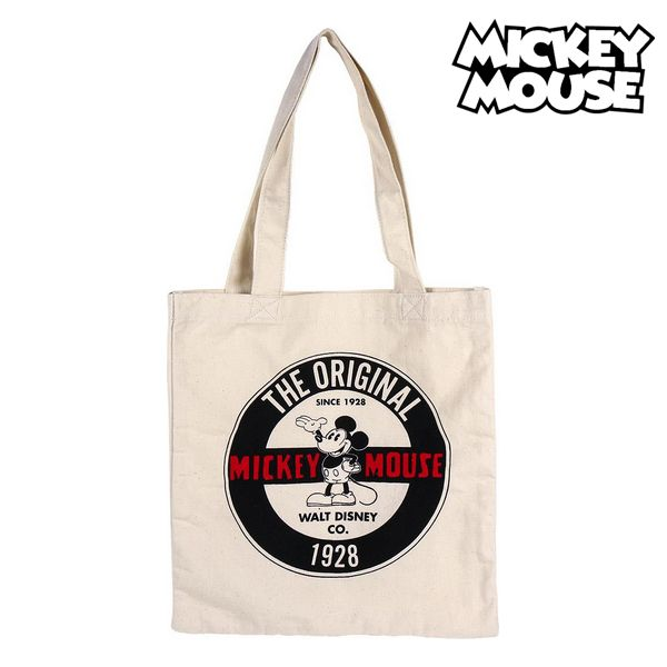 Multi-use Bag Mickey Mouse 72945 White Cotton