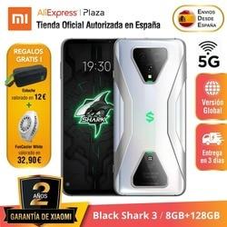[Versión Global para España] Black Shark 3 (Memoria interna de 128 GB, 8 GB de RAM, Snapdragon 865, 65W Hyper Charge 4720)