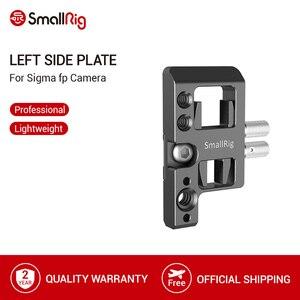 Image 1 - SmallRig placa lateral izquierda con bloqueo de Cable para cámara Sigma fp Placa de liberación rápida con bloqueo de Cable USB y HDMI 2672