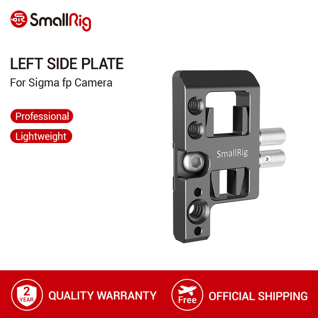 SmallRig placa lateral izquierda con bloqueo de Cable para cámara Sigma fp Placa de liberación rápida con bloqueo de Cable USB y HDMI 2672