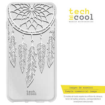 FunnyTech®Silicone stand case for IPhone 7/8 Dreamcatcher fund Galaxy