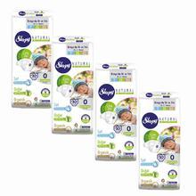 Sleepy Natural Preemie Diapers 0 Size 4 packs 30pcs/pack