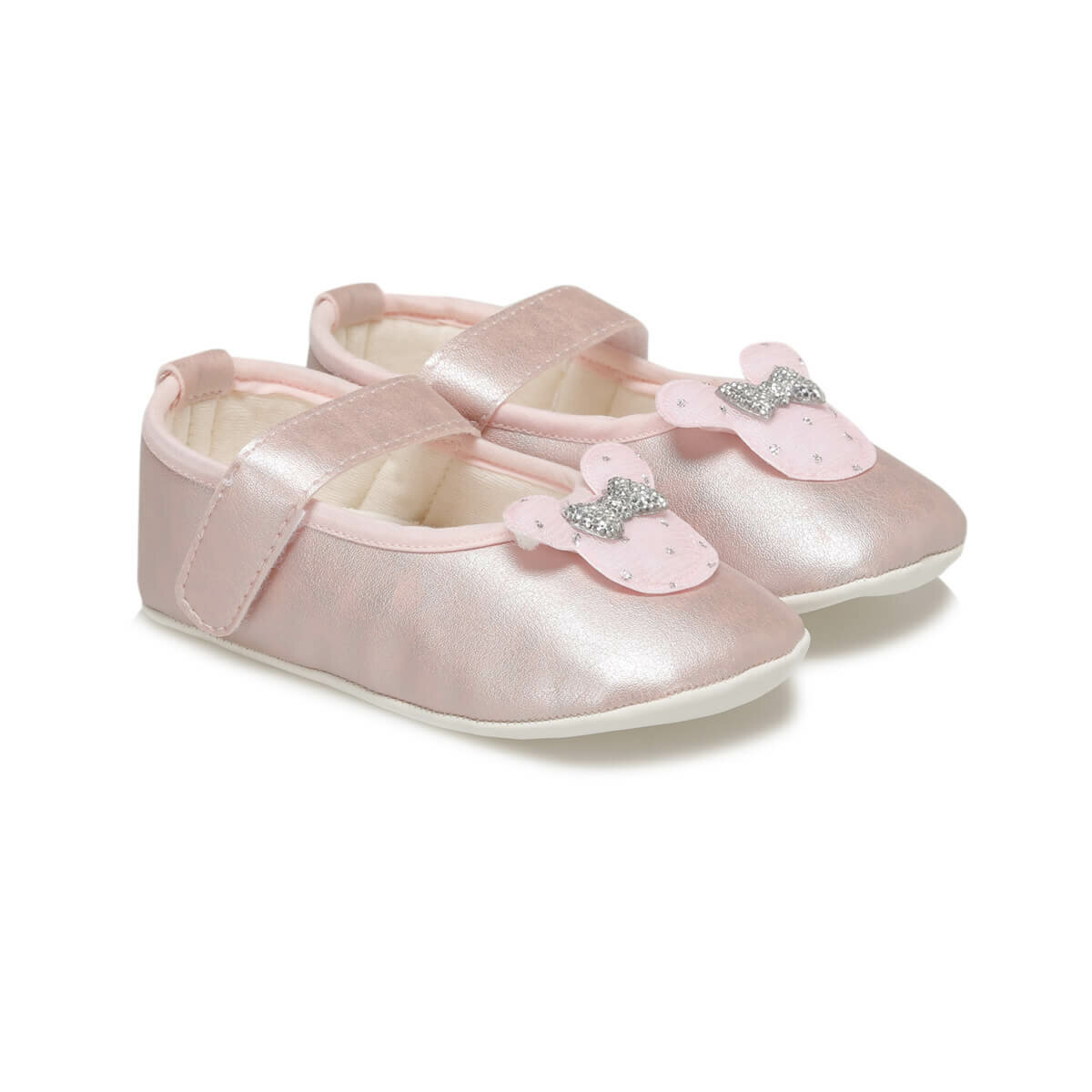 FLO 1242 Pink Female Child Shoes MINITTO