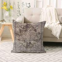 Else Brown  Anatolia Ethnic Antique Ottoman 3d Print Sofa large pillow case Floor cushion covers Hidden Zipper 70x70cm