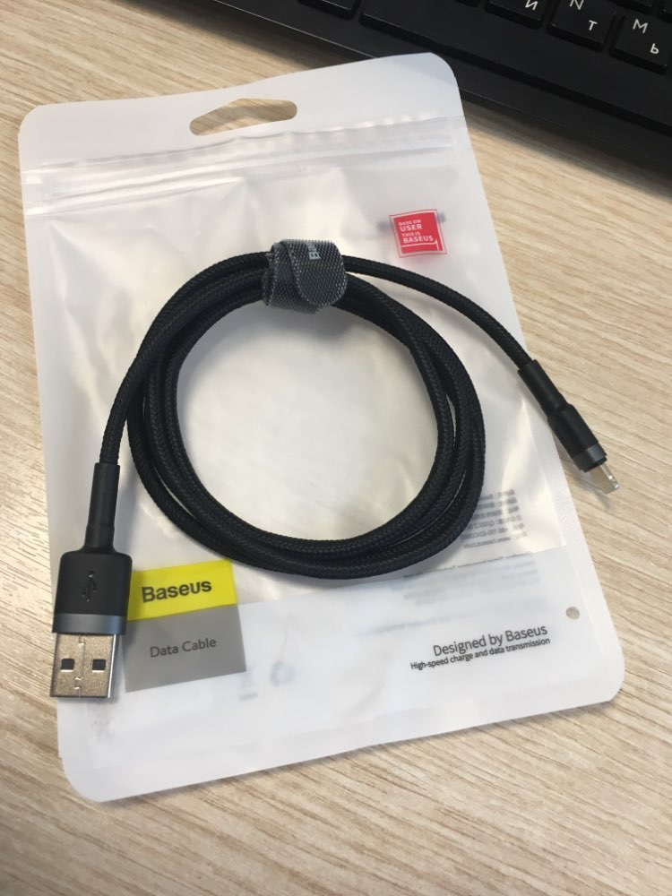 Baseus USB Cable For iPhone XS Max XR X 8 7 6 6s Plus 5 5S SE iPad Fast Charging Charger Data Wire Cord Mobile Phone Cables 3M-in Mobile Phone Cables from Cellphones & Telecommunications on AliExpress
