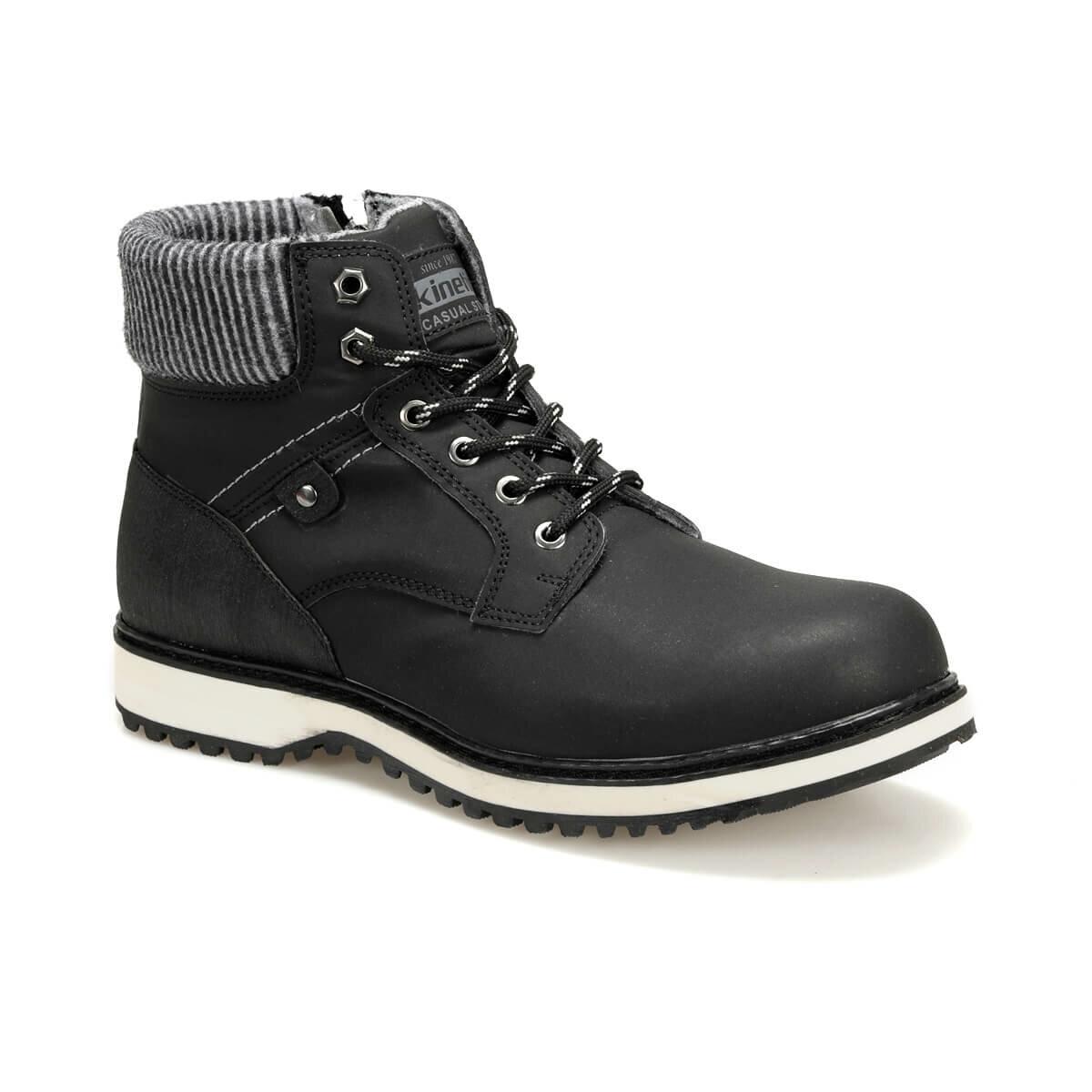FLO RAYDON Black Men Boots KINETIX