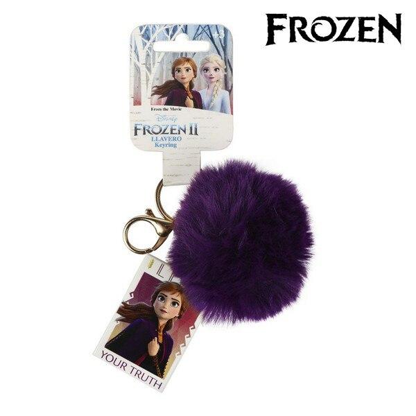 Cuddly Toy Keyring Anna Frozen 74024 Purple