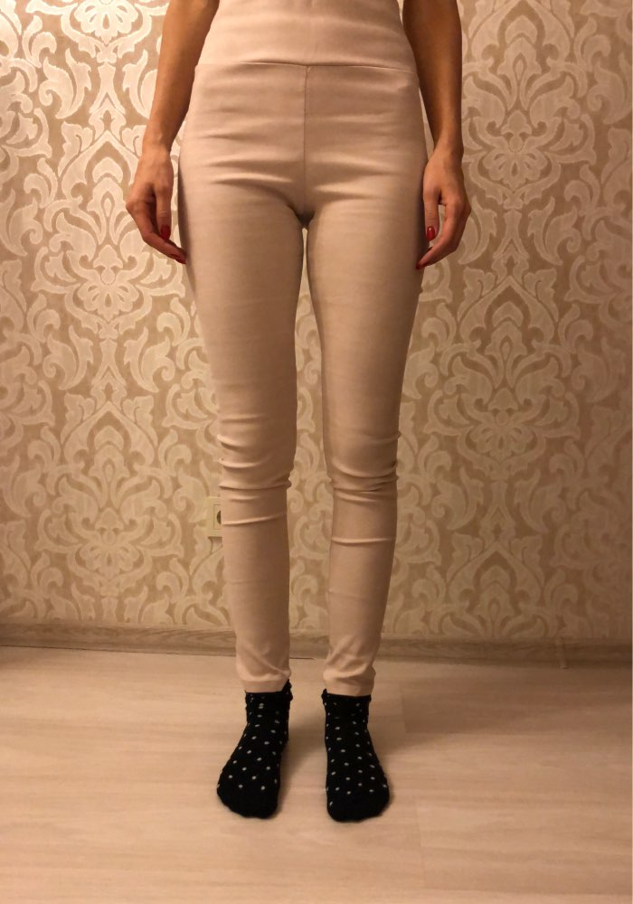 Suede Women Pants High Waist Stretch Slim Retro Leather Suede Pants Women photo review