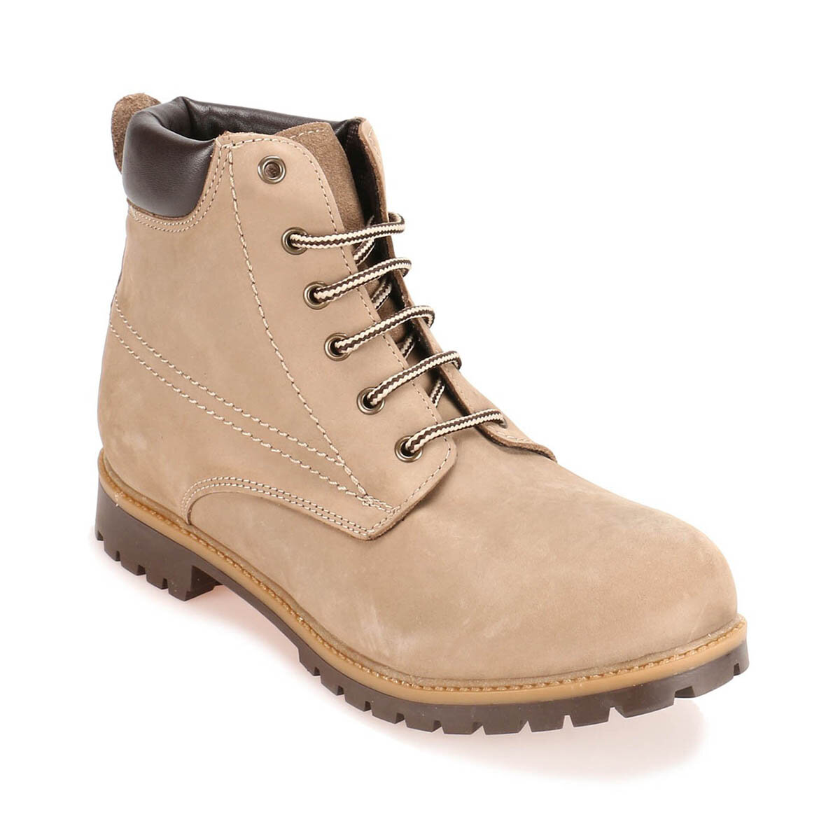 FLO CRM-1 M 1450 Sand Color Men Boots Panama Club