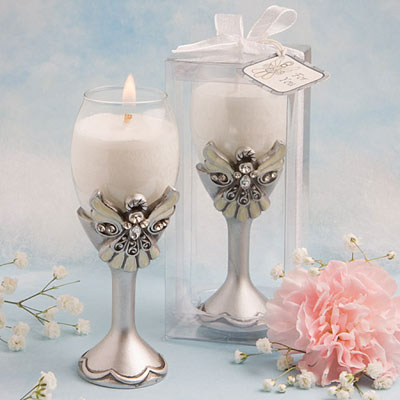 Set of 20 Elegant Angel 1ªcommunion candles-details and gifts for weddings, christening memories and communion for guests