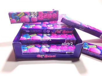 Duża guma balonowa guma do żucia truskawka bananowa Melon Tutti Frutti 100 gumy + 8 darmowych SHİPPİNG tanie i dobre opinie Mężczyzna 12 + y HK (pochodzenie)