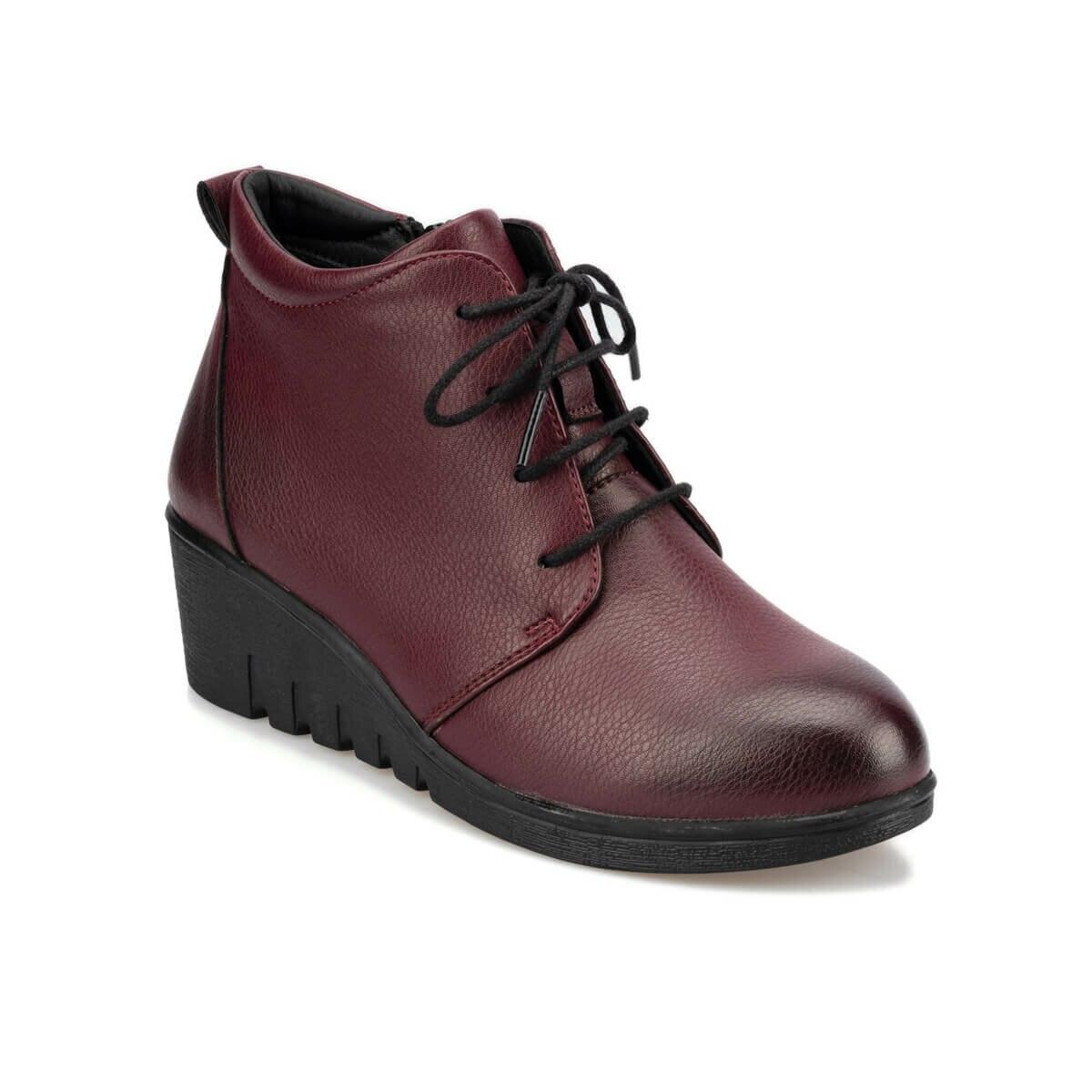 FLO 92.151090.Z حذاء بوت بولاريس نسائي عنابي اللون