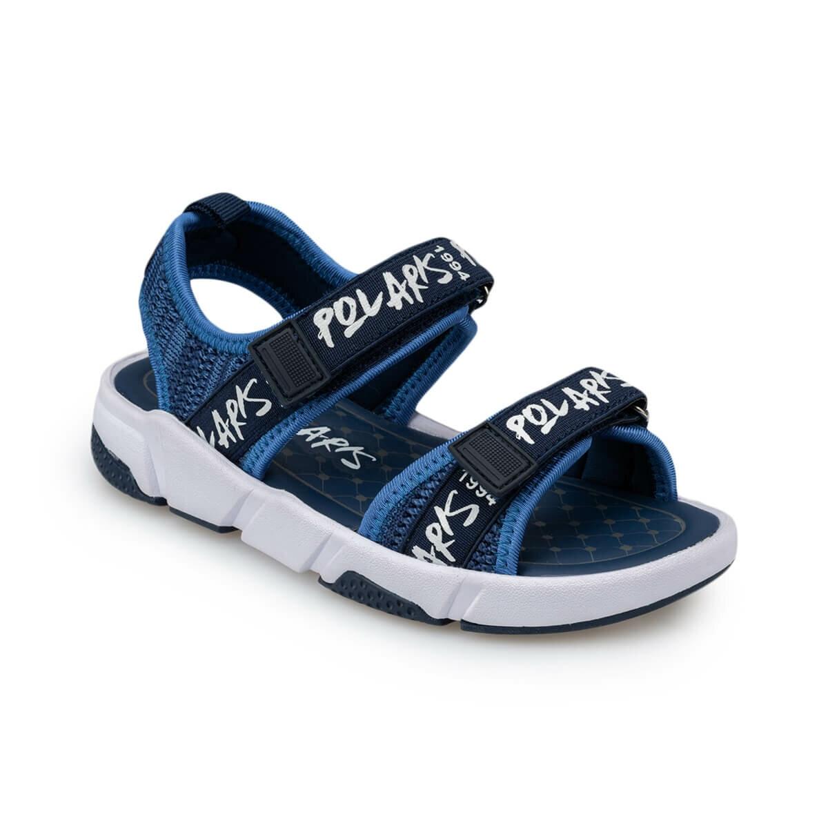 FLO 91.511307.F Navy Blue Male Child Sports Shoes Polaris