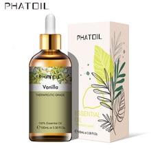 100ml baunilha óleo essencial aromático limão natural eucalipto camomila patchouli cedarwood bergamota jasmim peppermint oliva oi