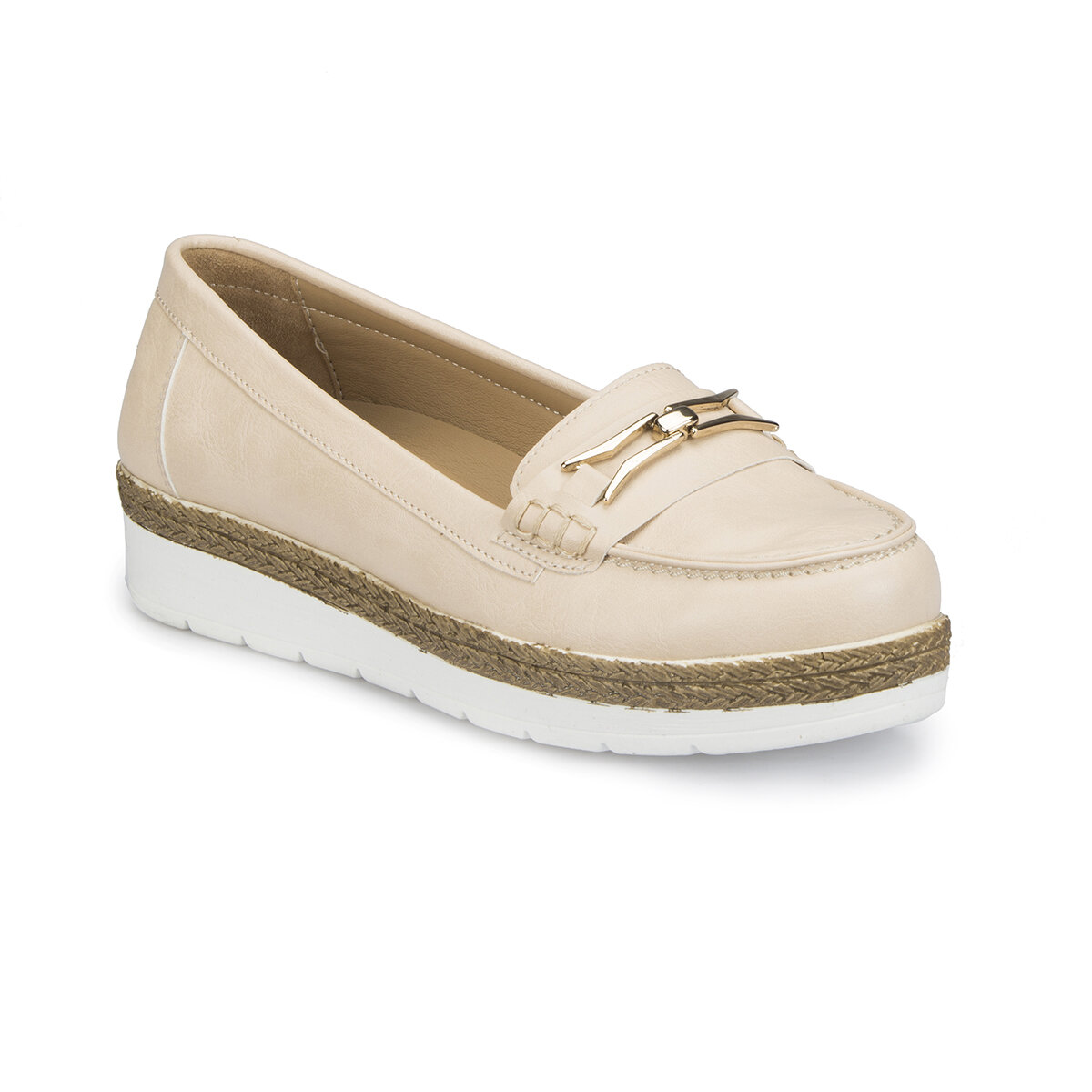 FLO 81.111293.Z Beige Women Basic Comfort Polaris