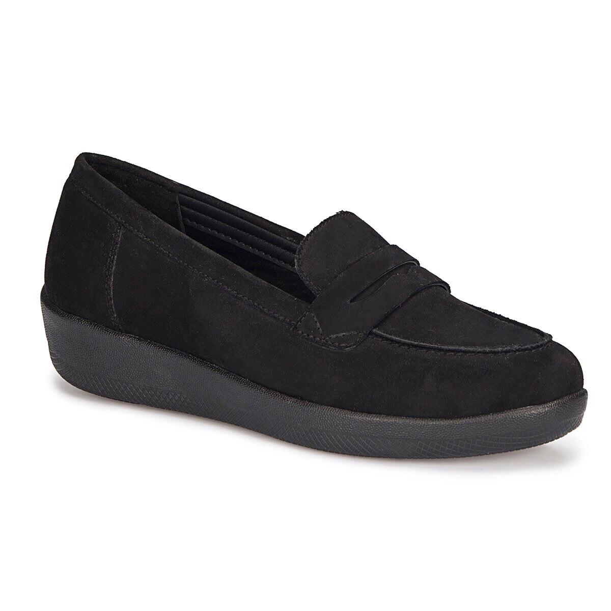 FLO 72.110195SZ Black Women Shoes Polaris