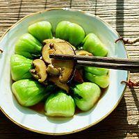 香菇油菜的做法图解6