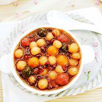 #福气年夜菜#团团圆圆~红豆汤圆的做法图解6