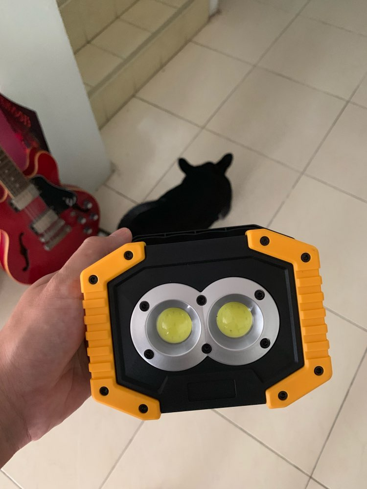 Lanternas portáteis Acampamento Holofotes Portátil