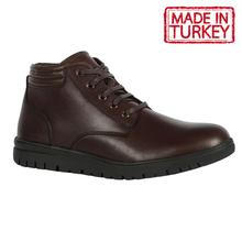 Made in Turkey   Men Lace Up Boots Leather Spring Autumn Vintage Style Ankle Boo