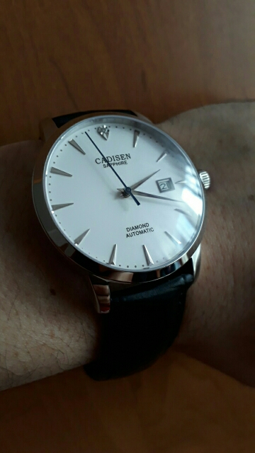 -- Safira Safira Relógio