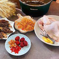 滋补羊肚菌鸡汤的做法图解1