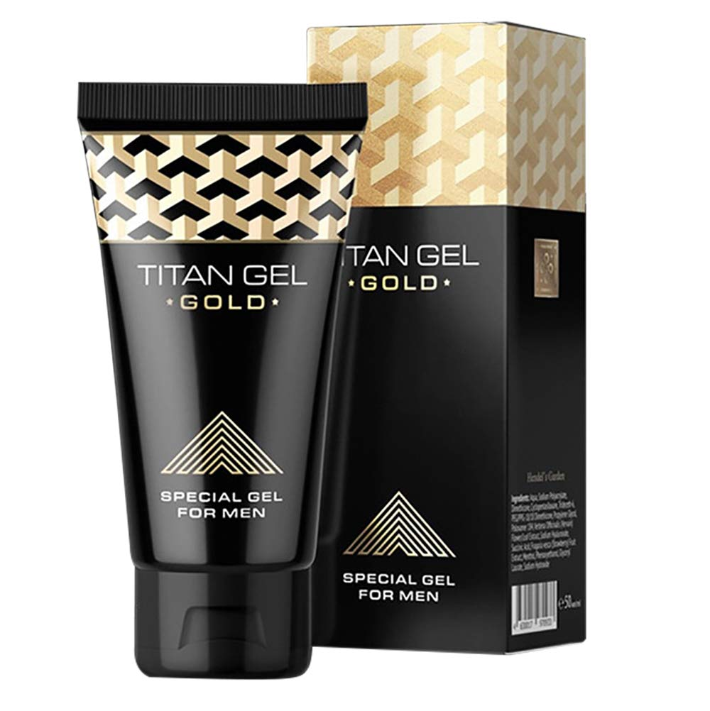 Titan Gel Gold Enhanced Exercise Massage Enlargement Extender Cream Delay Bigger And Thickening Products
