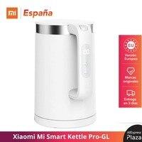 Xiaomi Hervidor de Agua Eléctrico Inteligente Pro-GL, Electric Kettle Pro-GL, Control de Temperatura Constante, 1,5 l, Aislamiento Térmico, Aplicación Móvil Mijia