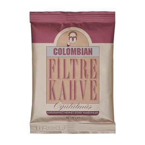 Colombian Filter Coffee 80 gr Turkish Kurukahveci Mehmet Efendi Delicious  Pure Fine Ground Coffee Made in Turkey| | - AliExpress